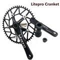 Модифицированные детали для шоссейного велосипеда LP Litepro SP8 170 мм 130 BCD