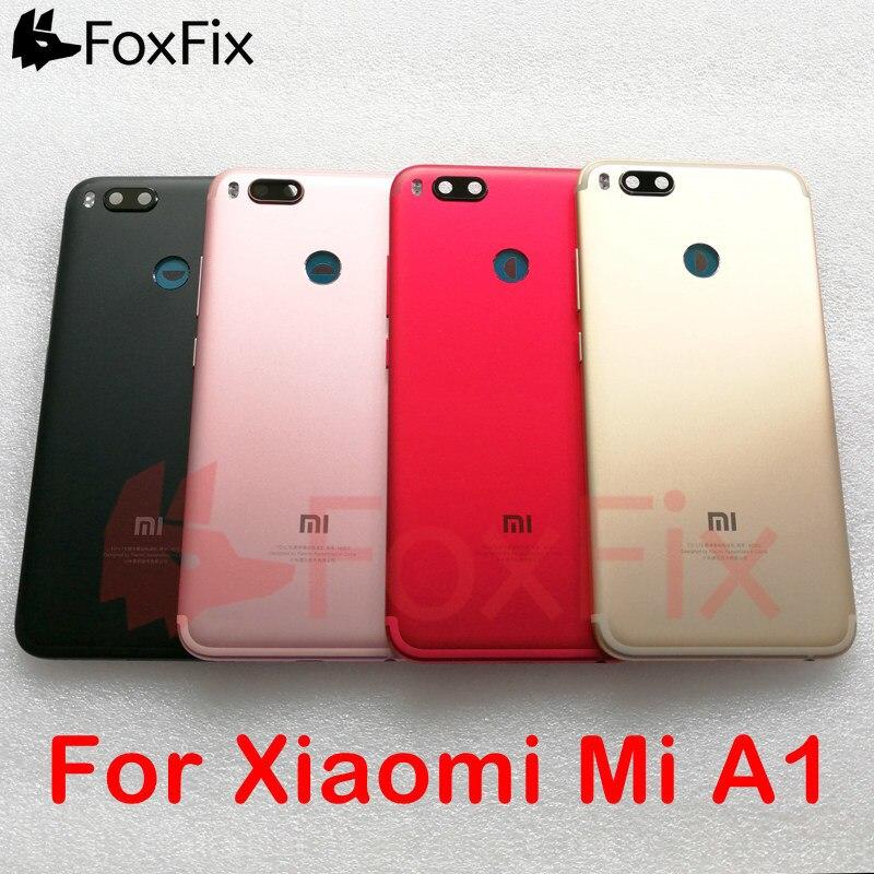 Obudowa tylna dla Xiaomi Mi A1 pokrywa baterii obudowa na tył obudowa wymień na Xiaomi Mi A1 pokrywa baterii czarny/złoty/różowy/czerwony