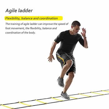 Agility Speed Jump ladder Soccer Agility Outdoor Training Football For Fitness Soccer Football Speed Ladder Equipment 3m 4m 6m agility speed jump ladder soccer agility outdoor training football fitness foot speed ladder