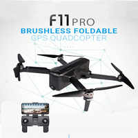 SJRC F11 PRO GPS 5G Wifi 500m FPV With 2K Wide Angle Camera 28 Mins Flight Time Brushless Foldable RC Drone Quadcopter RTF
