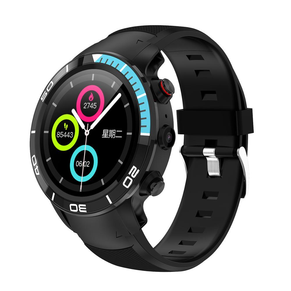 Microwear H8 Smart Watch With GPS Navigation Smartwatch 4g Ip68 Internet Call SIM  Card Heart Rate Monitoring Sport Watch