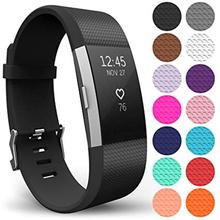 Silicone Wrist Strap for fitbit charge2 Band Fitness Smart Band Bracelet Watch Replacement Sport Strap for Fitbit Charge 2 watchband silicone strap for fitbit alta wrist replacement band smart watch fitness strap accessory