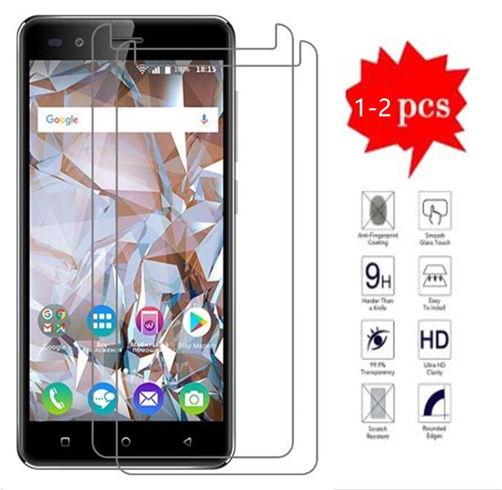 2.5D 9H Защитное стекло для BQ BQ-5054, кристальная защита экрана, закаленное стекло для BQ 5054, Хрустальное стекло для телефона