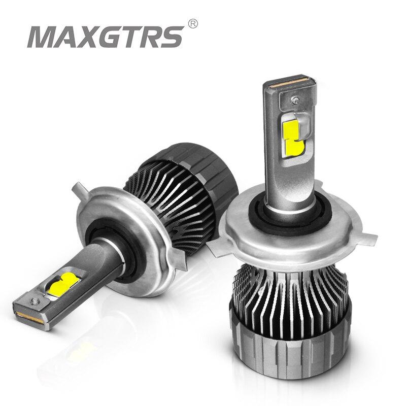 2x XHP50 2,0 светодиодный чип H4 Hi/Low HB2 H7 H8 H11 9005 HB3 9006 HB4 Автомобильные светодиодные фары, лампочки, автомобильные фары, противотуманные фары 12000LM 90W