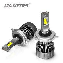 2x XHP50 2,0 LED Chip H4 Hallo/Low HB2 H7 H8 H11 9005 HB3 9006 HB4 Auto Led Scheinwerfer glühbirne Auto Scheinwerfer Nebel Licht 12000LM 90W