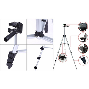 Image 4 - Tripod Mount Stand Set With Phone Holder Clip For Smartphone Telescopes Digital Go Pro Camera UY8
