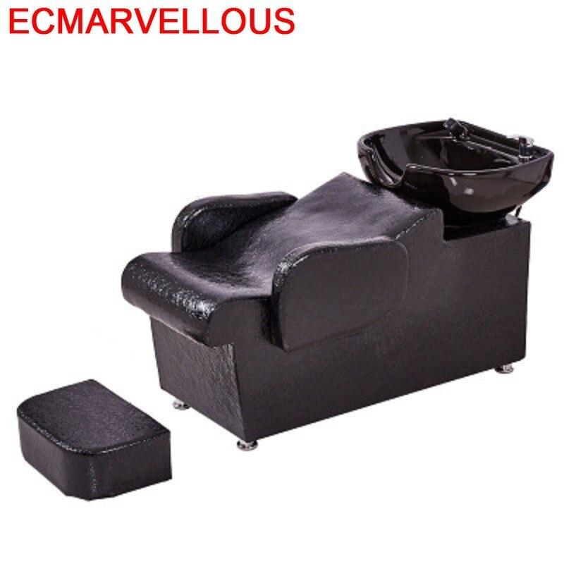 Lavacabezas Makeup Cabeleireiro Beauty De Belleza Bed Hair Furniture Salon Cadeira Maquiagem Silla Peluqueria Shampoo Chair