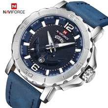 Men Watches Clock Analog NAVIFORCE Military Relogio Luxury Brand Sport Quartz Date