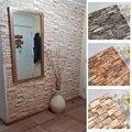 Schaum 3D Wand Aufkleber Selbst Klebe Tapete Panels Home Decor Wohnzimmer Schlafzimmer Haus Dekoration Bad Weichen Wand Aufkleber