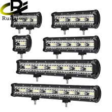 Row Combo Led Light Bar 4 7 9 12 15 18 20 inch Led Work Light Driving Offroad Boat Car Tractor Truck 4x4 SUV ATV UTV UAZ