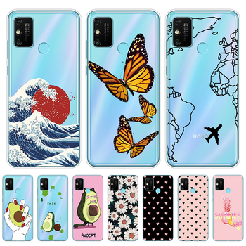 Case For Honor 9A Case 6.3 inch Soft TPU Silicone Phone Cover For Huawei Honor 9A 9 A MOA-LX9N Back Protective Coque Funda Shell silicone phone case for huawei honor 9 honor 9 lite cases soft tpu phone back cover full 360 protective shell new design