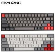 Skyloong sk68 Горячая замена rgb механическая клавиатура с pbt