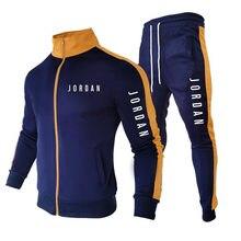 Sudadera con capucha informal para hombre, ropa deportiva de calle de 2 piezas, conjuntos para hombre