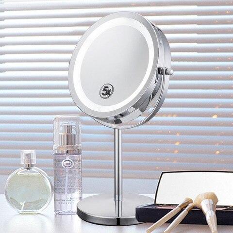 redondo levou luz espelho de maquiagem 2018 nova venda