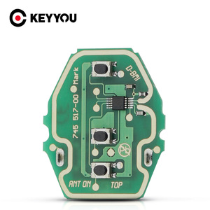KEYYOU Remote Key Control Circuit Board Car For BMW EWS X3 X5 Z3 Z4 1/3/5/7 1 3 5 7 X3 X5 Z3 Series Fob 3 Buttons With ID44 Chip