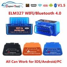 Obd2 cкelelelelm327 v1.5 pic18k25k80 elm 327 v1.5 ferramenta de diagnóstico do carro automático elm327 obd 2 wi-fi scanner automático para android/ios/pc