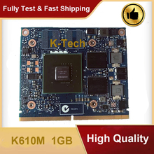 Original K610M 1GB K 610M N15M-Q2-B-A1 Video Display Karte VGA für HP ZBook 15 17 Grafikkarte 100% test