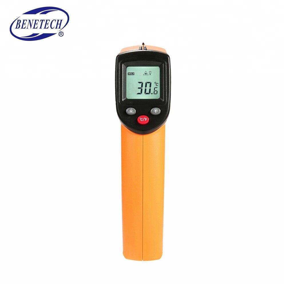 (Не для людей) лазерный цифровой ИК-термометр с ЖК-экраном измеритель температуры пистолет бесконтактный термометр Benetech GM320