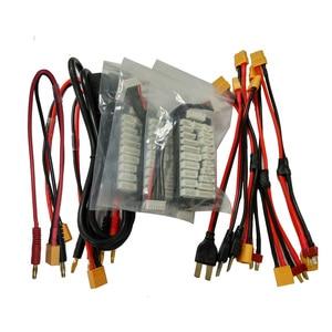 "Image 5 - Balance Ladegerät HT206 AC/DC TRI Triple Port 200W * 3 20A 4.3 ""Farbe LCD Touch Screen für Lilon/LiPo/LiFe/LiHV/Nicd/NiMh PB Batterie"