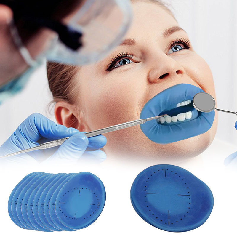 1pcs Disposable Dental Orthodontic Lips Cheeks Mouth Openers Latex Free Rubber Dam For Teeth Whitening Cheek Retractor