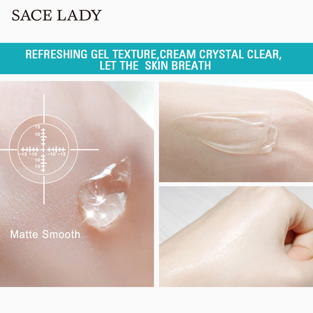 SACE LADY Face Base Primer Makeup Liquid Matte Make Up Fine Lines Oil-control Facial Cream Brighten Foundation Primer Cosmetic 4