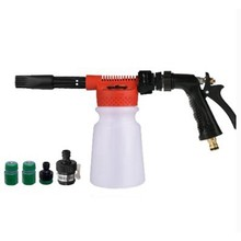 Auto Wasmachine Hoge Druk Sneeuw Foamer Waterpistool 900ml Car Cleaning Foam Gun Wassen Pistool Water Zeep Shampoo Spuit(China)