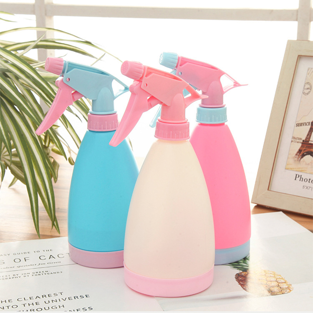 1PCs Plastic Alcohol Spray Bottle Disinfection Tool Watering Sprayer Home House Cleaning Tool Garden Plant Watering Tool 21x8cm