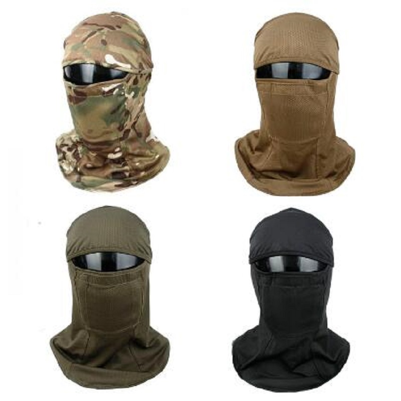 TMC3267 CS Tactical Camouflage Headset Sunscreen Dust-proof Full-wrapped Headscarf