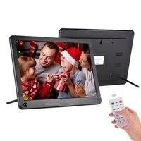 P101 10 Polegada led digital photo frame ips desktop álbum eletrônico 1280x800 hd suporta vídeo/música/foto player/despertador/cloc|Acessórios para câmera de vídeo 360º| |  -