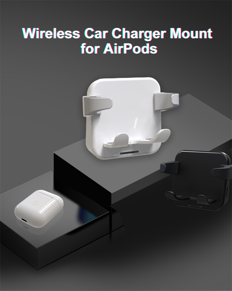 2019 New wireless charger stand for airpod wireless charger holder For all <font><b>Qi</b></font> <font><b>watch</b></font> image
