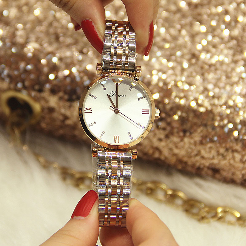 Women Watches Woman Luxury Famous Brand 2019 Ladies Quartz Elegant Classic Steel Female Watches Women's Wristwatches Clock Woman
