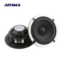 AIYIMA 2Pcs 3 אינץ אודיו רמקול 4 8 אוהם 15W אמצע טווח רכב רמקול 20 צמר ליבת נייר קונוס אלומיניום Neodymium רמקול