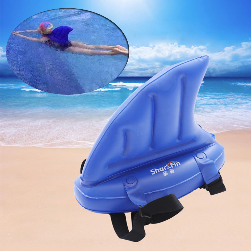 New Children Swimming Toy Inflatable Children Shark Swim Fin Animal Swimming Ring Float Swim Training Aid 9.2