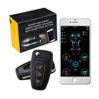 Cardot 4g app de telefone inteligente iniciar parada gps gsm rastreador carro remoto inteligente starter gsm alarme do carro