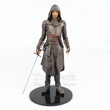 цена на Assassin Movie Aguilar 7 Action Figure From Mcfarlane Toy Movie Color Tops Series Statue Doll Model Creed Collectible