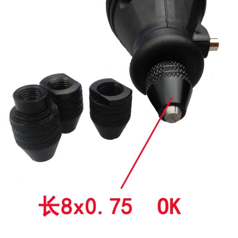 0 3 3 2mm Multi Drill Chuck Keyless For Dremel Rotary Tools Keyless Drill Bit Chucks Adapter Converter Universal Mini Chuck in Power Tool Accessories from Tools