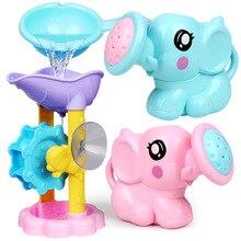 Faucet Watering Bathing-Water-Spraying-Tool Elephant Pot-Toys Dabbling-Toys Wheel-Type