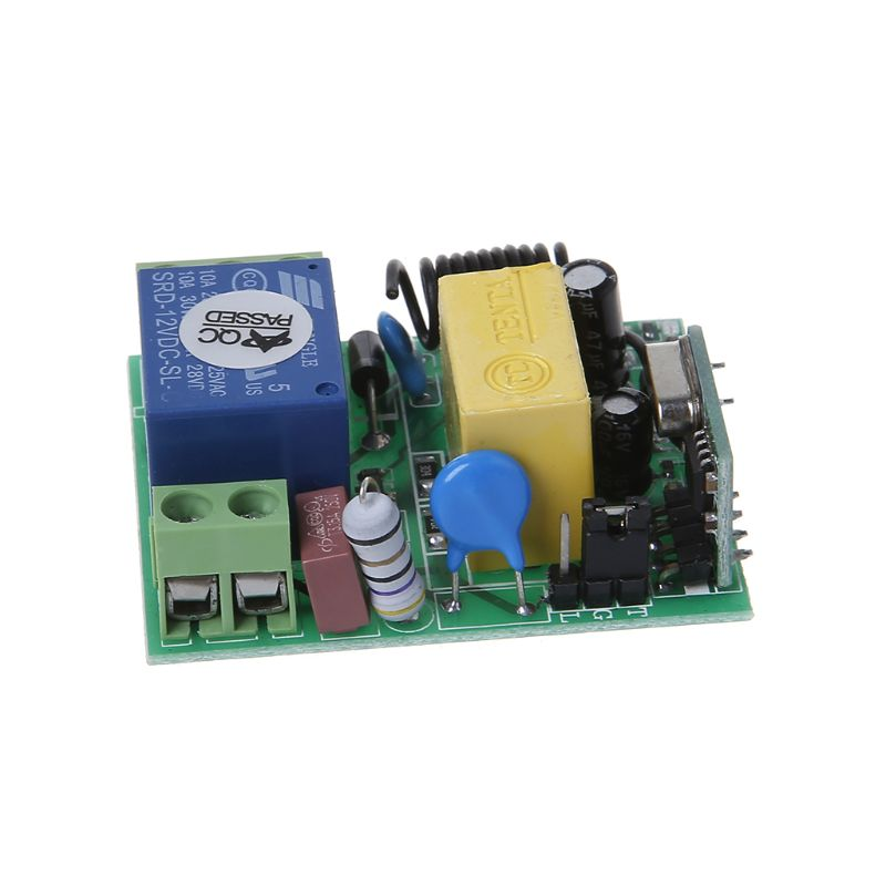 Wireless <font><b>Remote</b></font> Control Switch AC 220V 1CH Channel Relay Receiver Module RF Transmitter <font><b>Garage</b></font> <font><b>Door</b></font> <font><b>Openers</b></font> Cars LED Lights AXYB image
