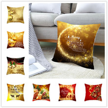 Christmas Decorations for Home Gift Pillowcase New Year 2020 Tree Decor 45x45cm Kerst