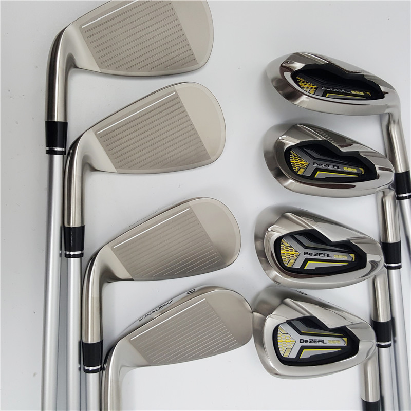 New golf club HONMA BEZEAL 525 full set, golf driver wood putter iron graphite shaft R or S golf club with hood, without bag 4