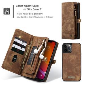 Image 5 - CaseMe Vibrazione del Cuoio Della Copertura Per il iPhone 11 12 Pro Max SE 2020 Caso Multi funzionale Magnete Delle Cellule Sacchetto Del Telefono per iPhone 6 7 8 Più di 10