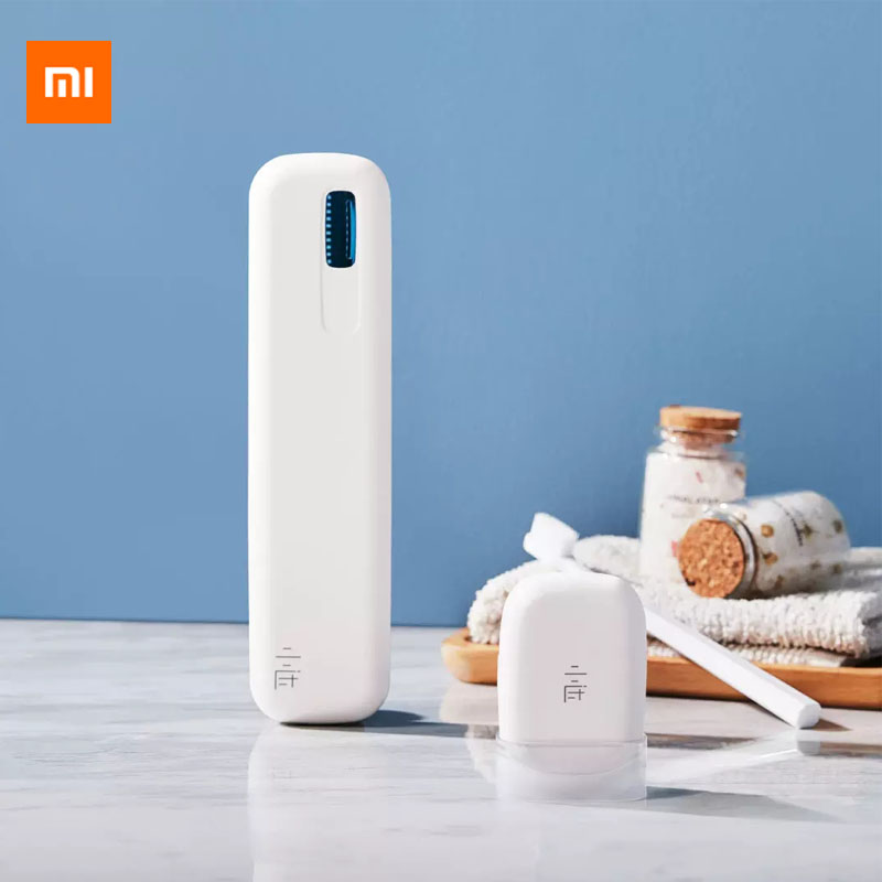 Xiaomi Mijia Xiaoda Travel Ultraviolet Disinfection USB Rechargeable Toothbrush UVC Package Sterilizer Box From Xiaomi Youpin
