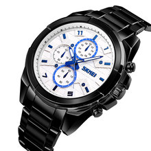 SKMEI Quartz Smart Watch Men Wristwatch Waterproof Bluetooth Watches Calorie SOS Help Call Reminder 1461