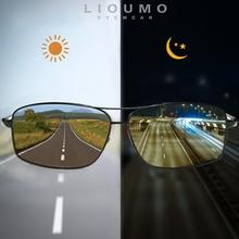 LIOUMO  أفضل نظارات شمس فوتوكروميك ، عدسات مستقطبة للرجال والنساء, متغيرة اللون ومضادة للتوهج ، تناسب القيادة