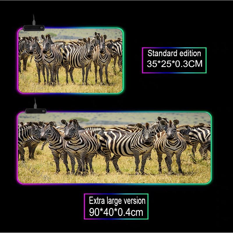Mairuige большой компьютерный коврик с изображением животных