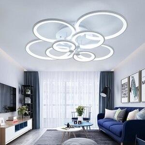 Image 2 - NEO זוהר שלט רחוק סלון חדר שינה מודרני led תקרת אורות luminarias para sala עמעום led תקרת מנורת גופי