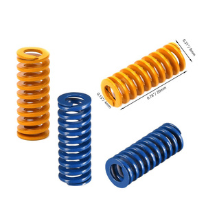 Heated Bed Springs Die Springs Light Load Compression Spring for 3D Printer Creality CR-10 10S S4 Ender 3 Heatbed Springs Bottom(China)