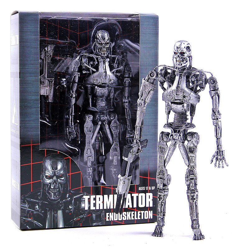 NECA The Terminator 2 Action Figure T-800 Battle Across Time Arnold PVC Action Figures Toy Collectible Model Dolls 7