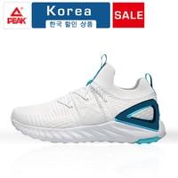 PEAK Men Shoes Adult Breathable Mesh Sneakers Men Casual Shoes Fashion Men Shoes Lace Up Men Running Shoes Zapatillas Deportiva