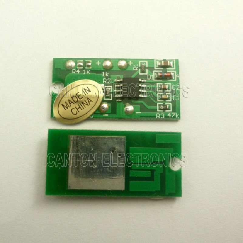 5x DC 3.7V 5V 1.2W Witte LED light & 1x 3.5-5V 2A Touch Schakelaar LED Driver Controller voor USB mobiele power 18650 lithium batterij